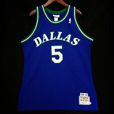 100% Authentic Jason Kidd Mavericks Mitchell Ness Jersey 48 XL - Nowitzki
