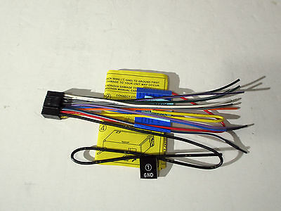 WIRE HARNESS FOR JVC KD-T805BTS KDT805BTS  Free Fast Shipping