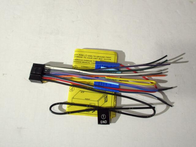 original jvc kd sr80bt wire harness oem c2 ebay rh ebay com