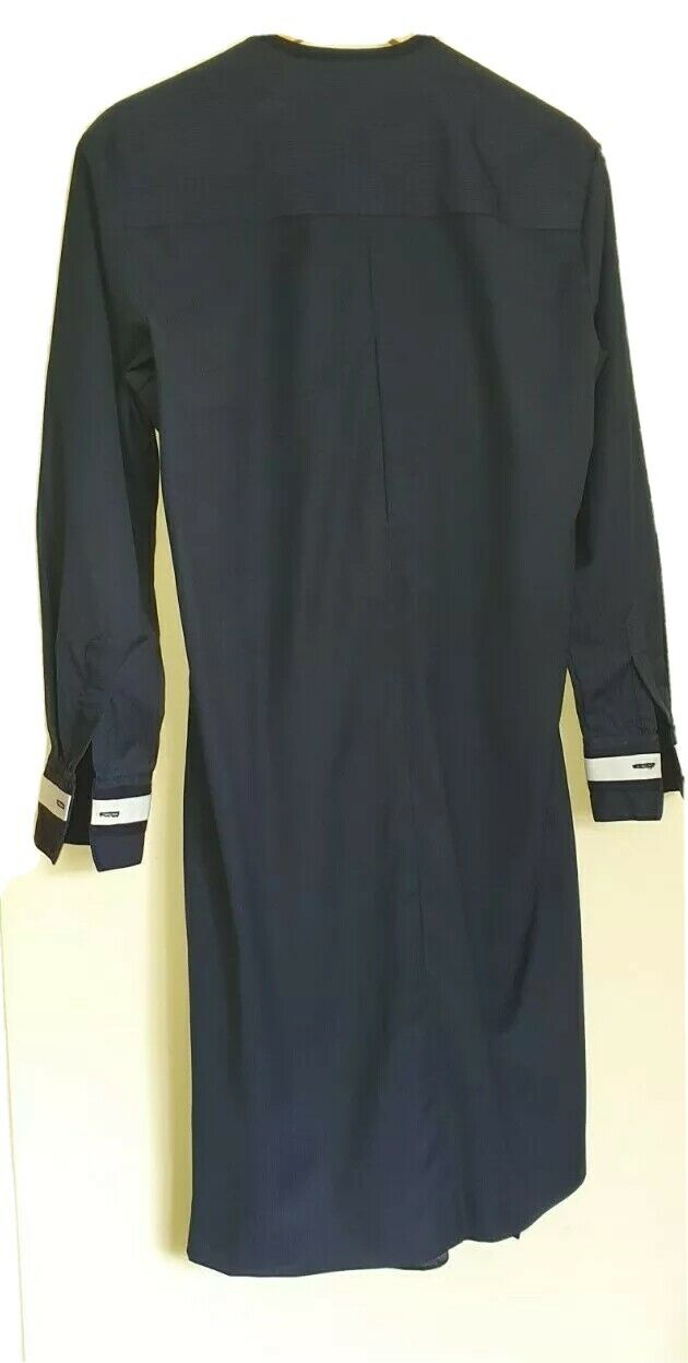 African Traditional Unisex Outfit ,UK Size S Navy Blues, New Without Tags.