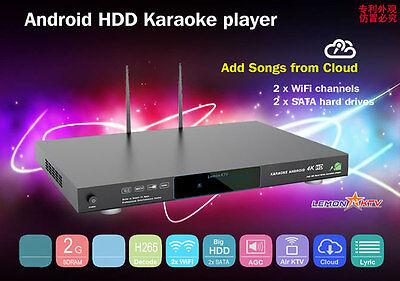 Vietnamese Android 4TB HDD 4K Karaoke Player, 29k songs (New model 2016)