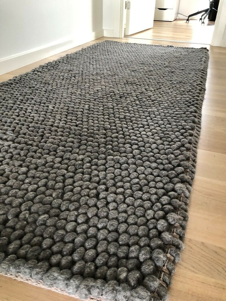 Løse tæpper, Uld, b: 80 l: 200