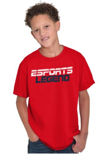 Sports Legend Video Gamer Youth T-Shirt Tees Tshirt For Kidsfor Boys and Girls