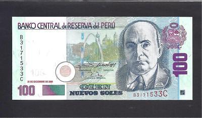 PERU 100 NUEVOS SOLES 2006 P 181 UNC
