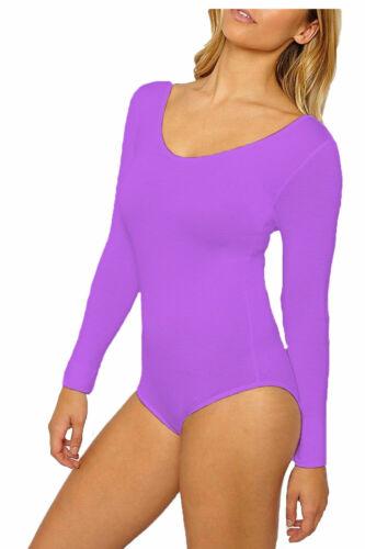 Kids Girls Full sleeve Lycra Stretch Leotard Bodysuit Gymnastic Ballet Dance Top
