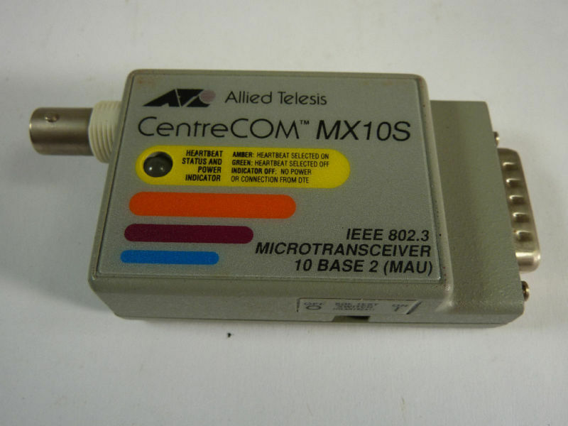 Allied Telesis 94A118F Micredransceiver MX10S  USED