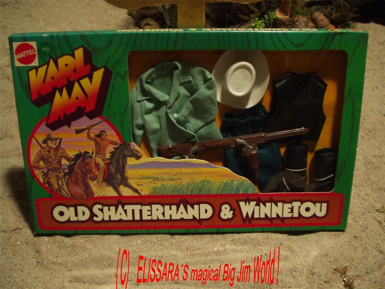 Big Jim - Karl May Winnetou - Western Outfit - TEXAS RANGER   MIB Box - OVP 9412