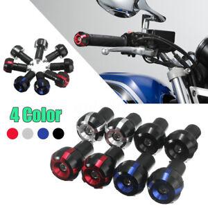 Coppia-Moto-Stabilizzatori-Manubrio-Contrappesi-Terminali-Protezione-22mm