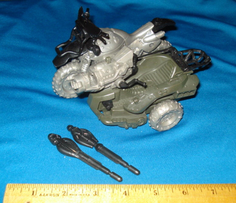 Predotype GI Joe    2002 G.I. Cobra Venom Cycle RARE TEST SHOT with two Missiles