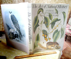 THE ART Of NATURAL HISTORY,1978,S. Peter Dance,1st Ed,Illust,DJ