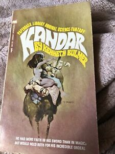 Kenneth Bulmer - Kandar - Paperback Library Books 1969 Vintage Fantasy Book
