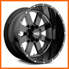 4 17x10 Moto Metal Mo962 568 Lug New Black Wheels Rims Free Caps Amp Lugs