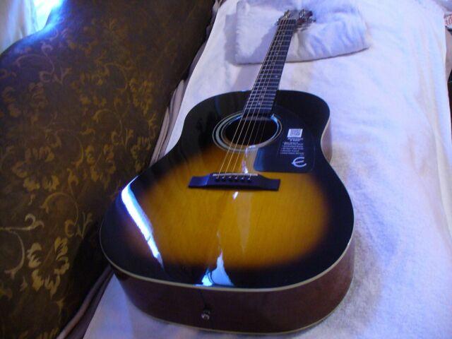 Epiphone Masterbilt Aj 45me Advanced Jumbo Acoustic Electric Guitar For Sale Online Ebay