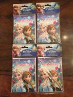 4 Packages Of Disney Frozen Invitations Envelopes & Cards