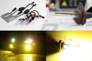 9005-Hb3-3000K-Amarillo-55W-Slim-AC-Lastre-Conversion-Hid-Kit-Xenon-Bombilla