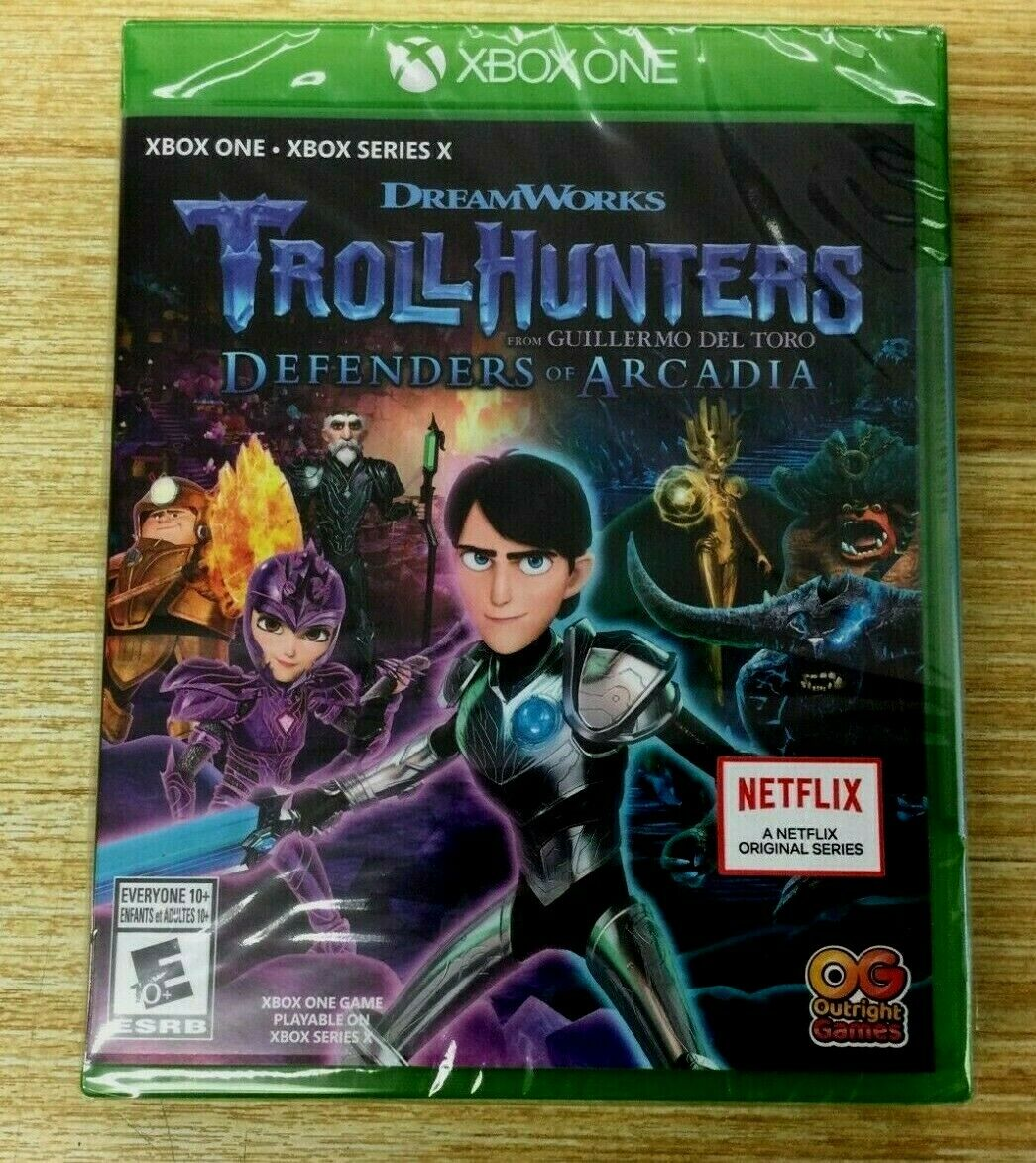 NEW Trollhunters Defenders of Arcadia for MICROSOFT XB1 Xbox One XBOX SERIES X