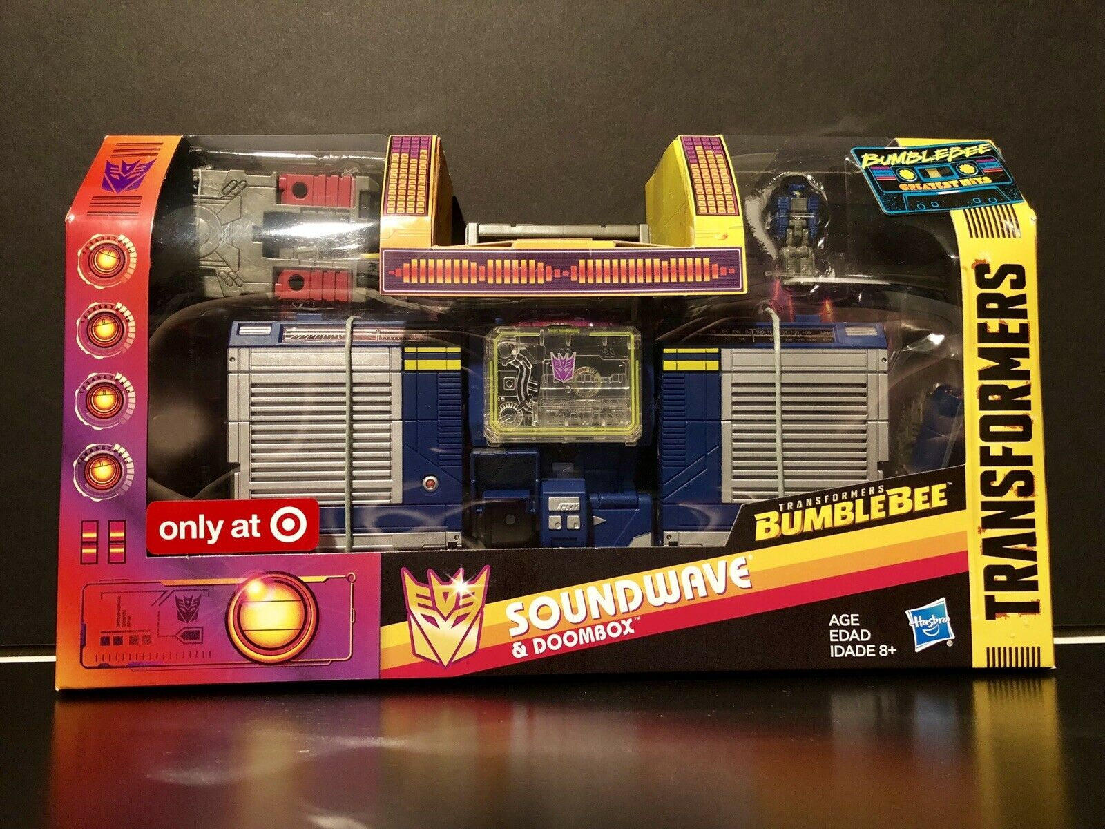 HasbroTransformers Bumblebee Greatest Hits SOUNDWAVE & DOOMBOX Target Exclusive