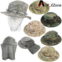 Outdoor Fishing Tactical Bonnie Hat Acu With Mosquito Netting Color Series