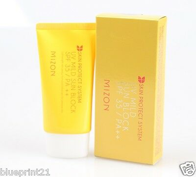 Mizon UV Mild Sun Block 50ml SPF35/PA++ Brand New Free Shipping