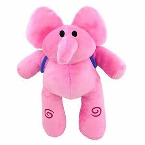 """Elly Pink Elephant Pocoyo Pre-school Cartoon Teddy Plush Toy Stuffed Animal 12/"""""""