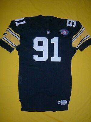 STEELERS 1994 KEVIN GREENE DURENE STARTER TEAM ISSUED GAME JERSEY HOF NFL 75TH | eBay