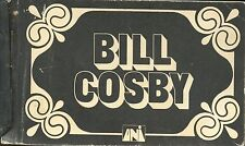 Bill Cosby  signed Flip Book  ( from TV show in the 1970's? ) Very Rare. VG