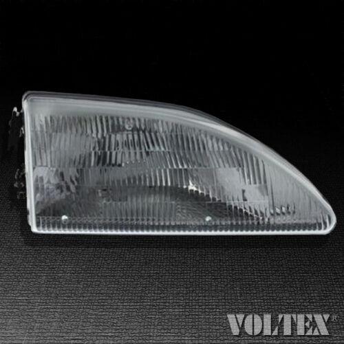 1994-1998 Ford Mustang Headlight Lamp Clear lens Halogen Passenger Right Side