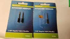 New Monarch Attacher Needles 2 Sg Regular Fabric Needles Total 3 Needles