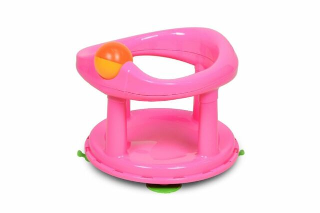Safety Baby Bath Seat 1st Swivel Pink Rotating Ergonomic First ...