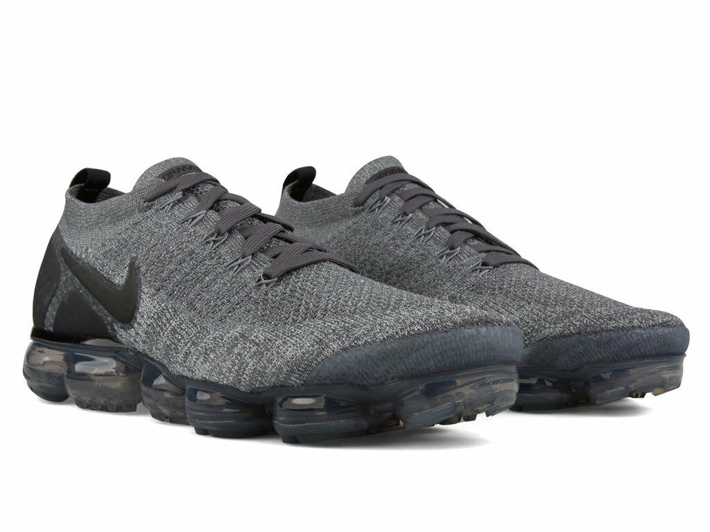 Nike Air Vapormax Flyknit 2.0 Grey US Men Running shoes 100%AUTHENTIC 942842-002