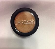LA Splash Make Up Single Full Size Metallic Light Brown Sugar Cream Shadow