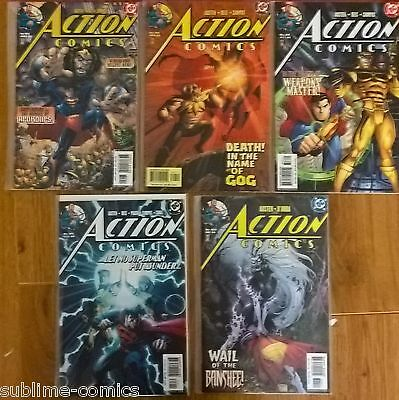 5 x ACTION COMICS #814 #816 #818 #819 #820 (DC Comics) NEW