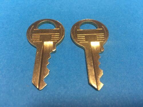 2 Master #1 Padlock Keys Code Cut To  X2551 thru X2600 Lock Key