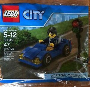 New Sealed 30349 LEGO City Polybag Sports Car