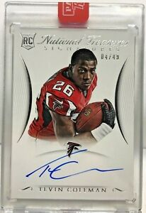 Tevin-Coleman-2015-National-Treasures-RPS-Signature-RC-on-card-Autograph-Auto-49