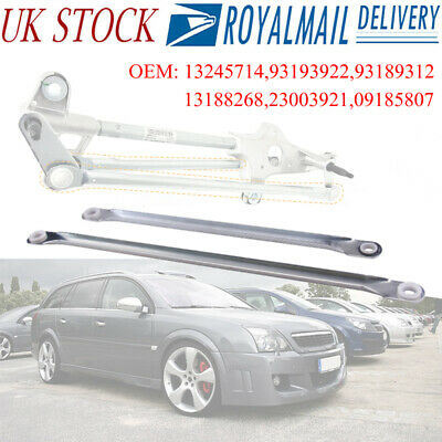 PAIR Windscreen Wiper Rod Linkage Repair Set VAUXHALL Vectra C 2005 on