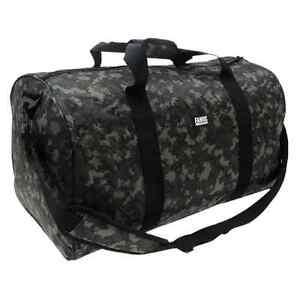 Fabric-brand-Digital-Camoflauge-gym-sports-overnight-duffle-bag-holdall-travel