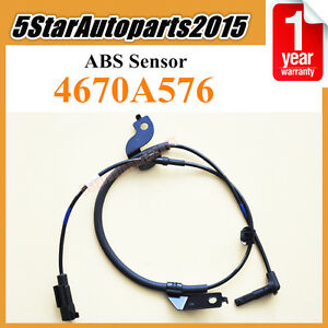 Front Right ABS Speed Sensor fits 2007-2016 Mitsubishi Lancer Outlander 4670A576