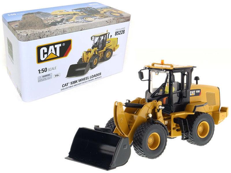 Ahorre 60% de descuento y envío rápido a todo el mundo. 1 50th Caterpillar Caterpillar Caterpillar deicast Masters Metal Cat 938K Rueda Cochegador vehículos 85228  marca en liquidación de venta