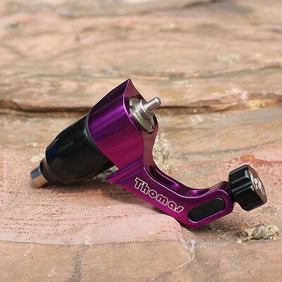 rotary tattoo machines tattoo guns aluminum frame purple color swiss motor