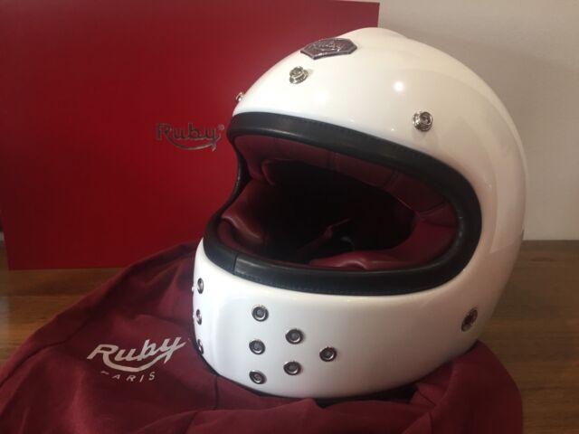 Ruby Castel Motorcycle Helmet Gabriel model