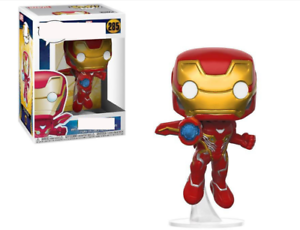 POP Marvel Super hero Iron man Doll Toy New Vinyl Action Figure Toy Doll