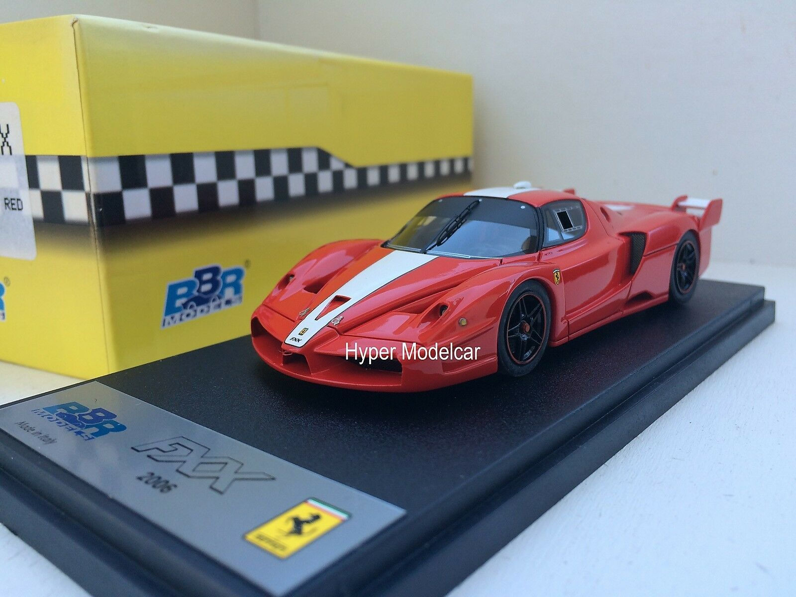 BBR Models 1 43 Ferrari FXX 2006 Red Art. BBR180A