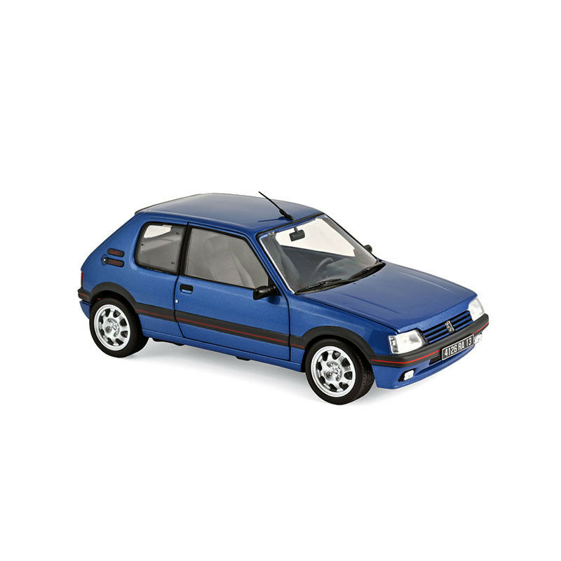 Norev 184856 Peugeot 205 Gti 1,9 bluee 1992 Scale 1 18 Model Car New  °