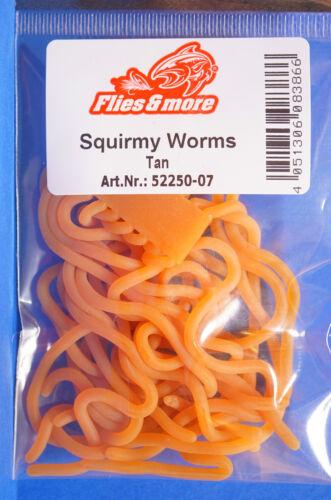 Worm Body tan Squirmy Worm tan