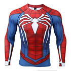 SPIDER-MAN INSOMNIAC PS4 COMPRESSION GYM SHIRT LIKE UNDER ARMOUR ALTER EGO