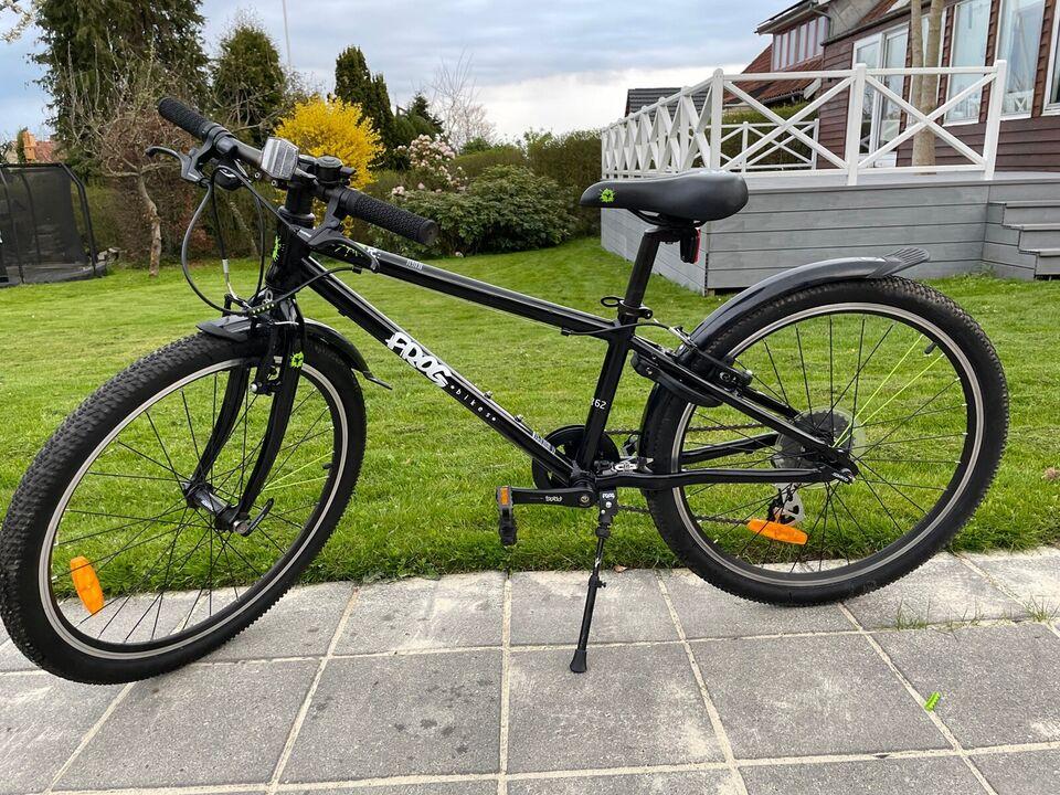 Unisex børnecykel, mountainbike, Frog 62