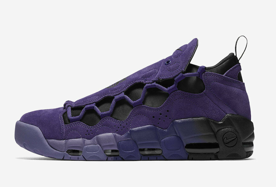 (AQ2177-500) NIKE MENS AIR MORE MONEY QS 'COURT PURPLE' PURPLE' PURPLE' *NEW* 0838b3