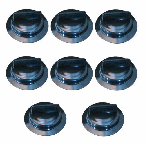 8x Black Gas Can Stopper Cap Spout Gasket Replacement Set For Gott Rubbermaid,