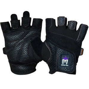 dac4401501 MEISTER WOMEN S FIT WEIGHT LIFTING GLOVES Ladies Gym Workout ...